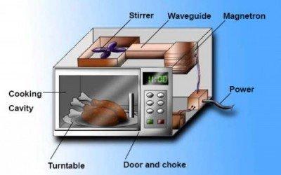 immagine di un microonde