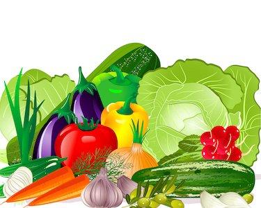 disegno di cesto di verdure