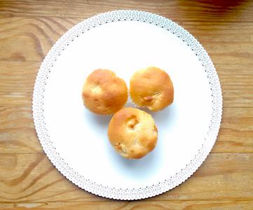 muffin di farro alle mele