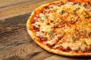 Pizza italiana con lievito madre